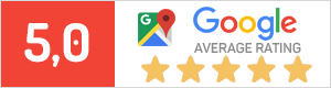 google average rating 5.0